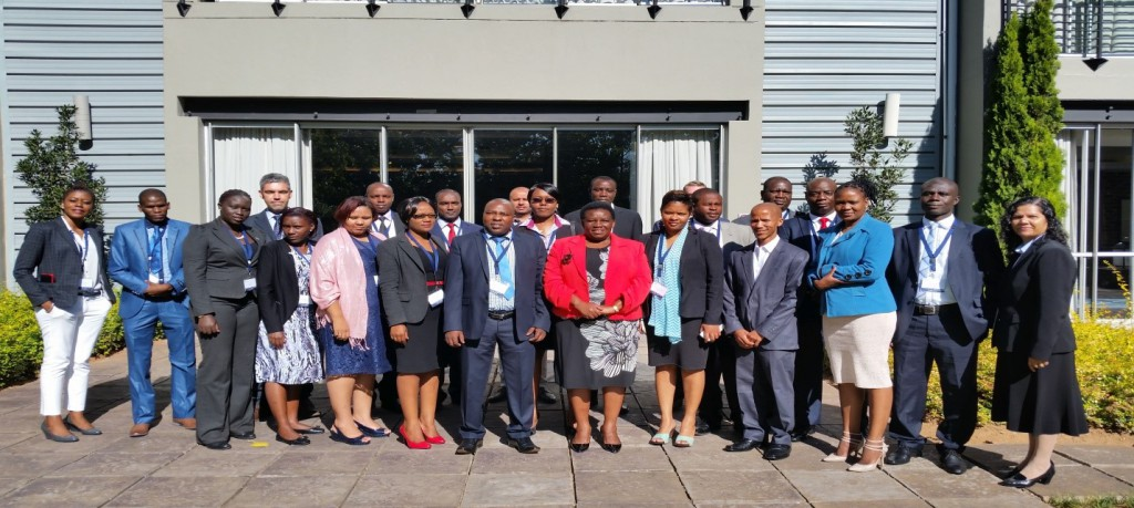 Participants in the April 2016 Extractive Industry capacity building workshop in Johannesburg