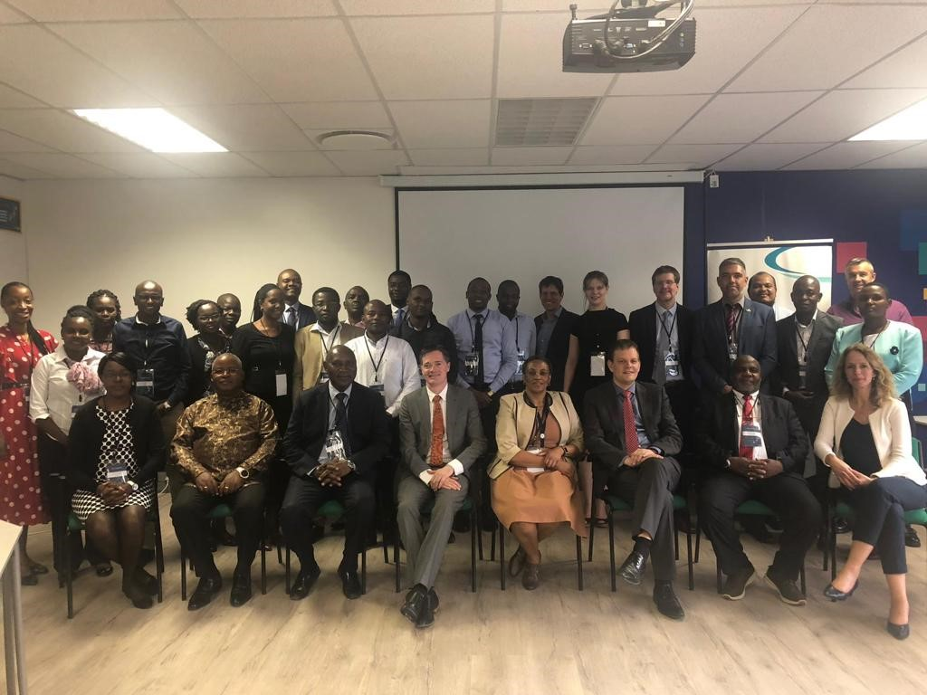 Participants at the kick-off meeting on parallel performance audits in Oil and gas at the AFROSAI-E office in Pretoria