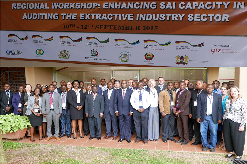 GIZ Workshop: Enhancing SAI Capacity in Auditing the Extractive Industry Sector; Kampala, 10th-12th September 2015