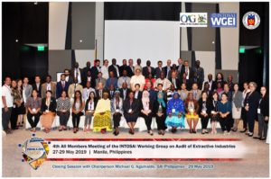 WGEI All members meeting, Manila 2019