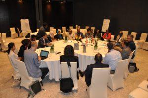 WGEI Steering Committee meeting with all of its ten members