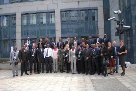 Participants at GIZ training
